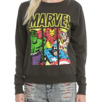 Marvel Avengers Panels Girls Pullover Top