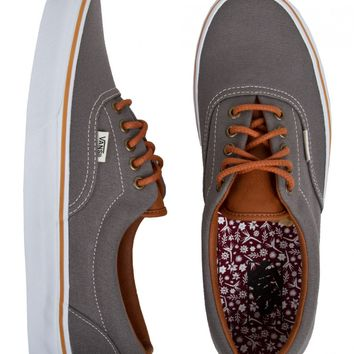 Vans Era Shoes - (Work Floral) Smoked Pearl | SundanceBeach.com