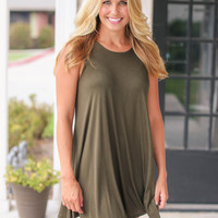 It's Perfect Dress - Olive