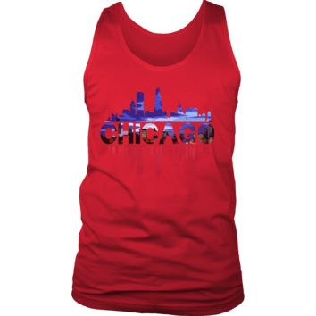 Chicago City Skyline Landmark U.S.A Souvenir Travel Tank
