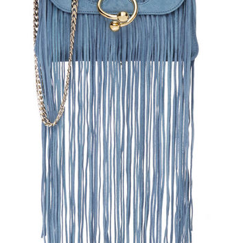 J.W.Anderson - Pierce mini fringed suede shoulder bag