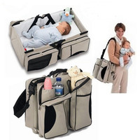 3 in 1 Multifunction Baby Crib Mummy Bag Mother