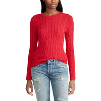 Cable-knitted Cotton jumper