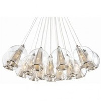 Privilege Lamps Laon Buffet Lamp - 38070 Size:Small - Ceiling Lights - Lighting