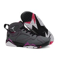 Air Jordan 7 Gs Valentine¡®s Day 304774-009 Women Basketball Shoes Us5.5-8.5 - Beauty Ticks