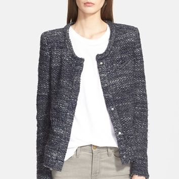 Women's IRO 'Carene' Marled Knit Jacket,