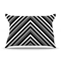 "Trebam ""Uspon"" Gray Black Pillow Case"