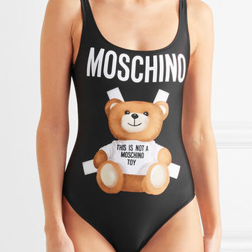 Moschino - Printed swimsuit