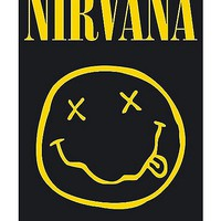 Smiley Nirvana Poster - Spencer's