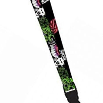 Suicide Squad JOKER LANYARD w/ID Holder and Charm Keychain