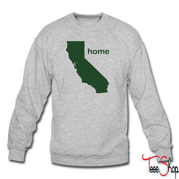 California homez crewneck sweatshirt