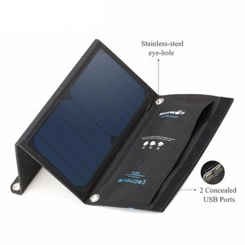15W Waterproof Solar Power Charger