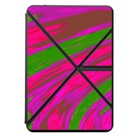 Bright pink swish a Kindle Fire HDX 7 Gen6 PU Case