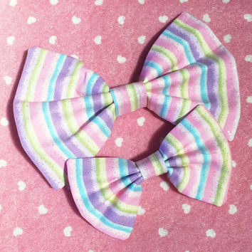 Fairy Stripes Bow
