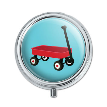 Little Red Wagon Pill Box