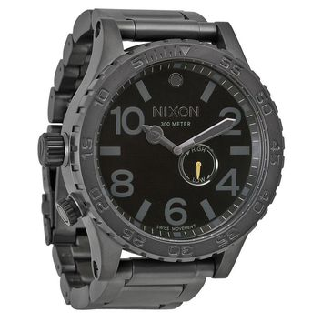 Nixon 51-30 Tide All Gunmetal/Black Mens Watch A057680