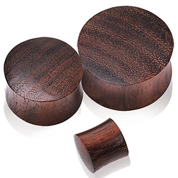 Brown Sono Wood Saddle Plug