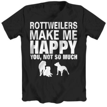 Rottweilers Make Me Happy