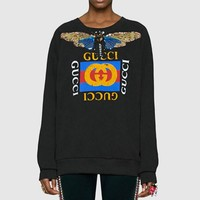 DCCKFM6 Gucci Fashion Long Sleeve Pullover Sweatshirt Top Sweater