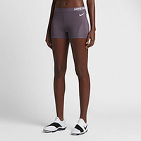 "The Nike Pro HyperCool Women's 3"" Training Shorts."