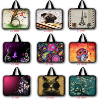 9.7 13 15 17 inch laptop bag tablet sleeve case with handle PC 10.1 13.3 15.6 17.3 inch computer notebook cover pouch LB-hot1