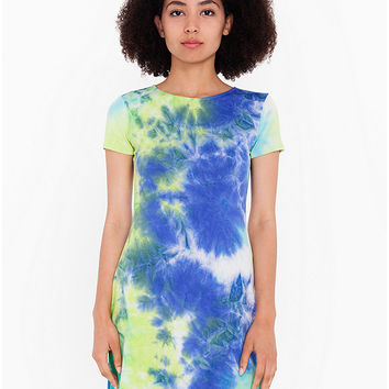 Tie-Dye T-Shirt Dress | American Apparel
