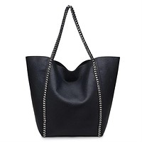 Matilda Tote Handbag in Black