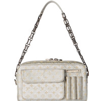 Louis Vuitton Silver Monogram Bag.  Lovely!