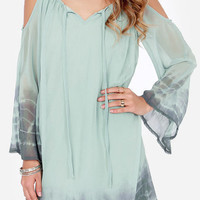 Cupshe Lost In Paradise Alligator Chiffon Dress