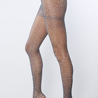 Free People The Leopard and Lace tights in Black Combo : Karmaloop.com - Global Concrete Culture