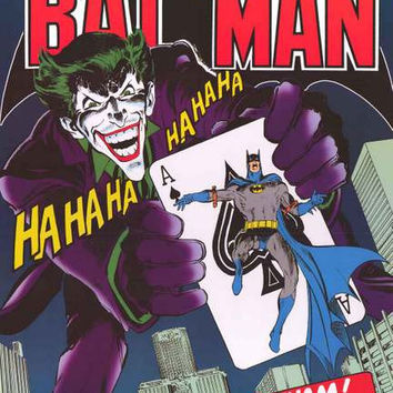 Batman The Joker's Back Poster 24x36