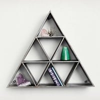 This Metal Shelf Is Made With A Lot Of Triangles | Cool Material