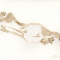 One Kings Lane - Open Studios - Jo Ann Belson, Reclining Nude