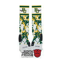 Custom Nike Elite Socks - Baylor Bears Custom Nike Elites - Baylor Socks, Baylor University, Baylor Football, Custom Elites