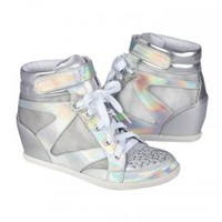 Holographic Wedge Sneakers | Girls Sneakers Shoes | Shop Justice