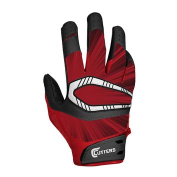 Cutters Rev Pro Receiver Gloves - Youth