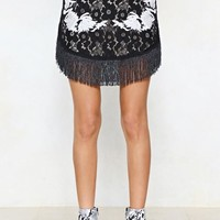 Use Your Thread Embroidered Skirt