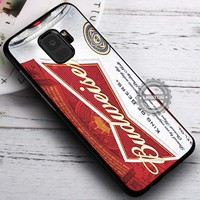 Beer Can Budweiser Whiskey iPhone X 8 7 Plus 6s Cases Samsung Galaxy S9 S8 Plus S7 edge NOTE 8 Covers #SamsungS9 #iphoneX