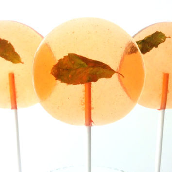 Mint Julep Gourmet Lollipops - Pick Your Size- Southern Theme - Party Favors - Kentucky Derby
