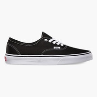 Vans Authentic Mens Shoes Black  In Sizes