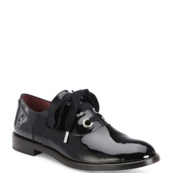 KENZO - Patent Leather & Metal Oxfords