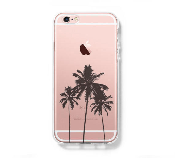 Palm Tree California Iphone 6s Clear Case From Retina Designs