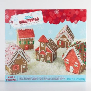 Alpine Gingerbread Village Kit
