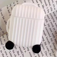 Fashion iPhone Apple AirPods Leather Case Shell