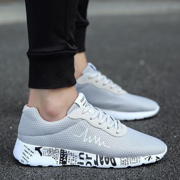 Stylish Comfort On Sale Hot Deal Hot Sale Casual Men Summer Men's Shoes Korean Fashion Permeable Low-cut Sneakers [10753718915]
