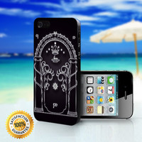 Magic Gate of Moria, Lord Of The Ring, The Hobbit - For iPhone 4/4s, iPhone 5, iPhone 5s, iPhone 5c case. Please choose the option