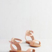 Lighthearted on Your Feet Sandal in Rose