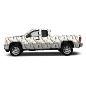 Realtree® Snow Camo Accent Vehicle Wrap | Realtree AP Camo
