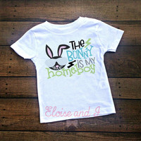 boys easter shirts, easter outfit baby boy, 1st easter outfit, babys first easter, baby boy clothes, toddler boy shirts, bunny is my homeboy