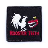 Rooster Teeth Logo Patch